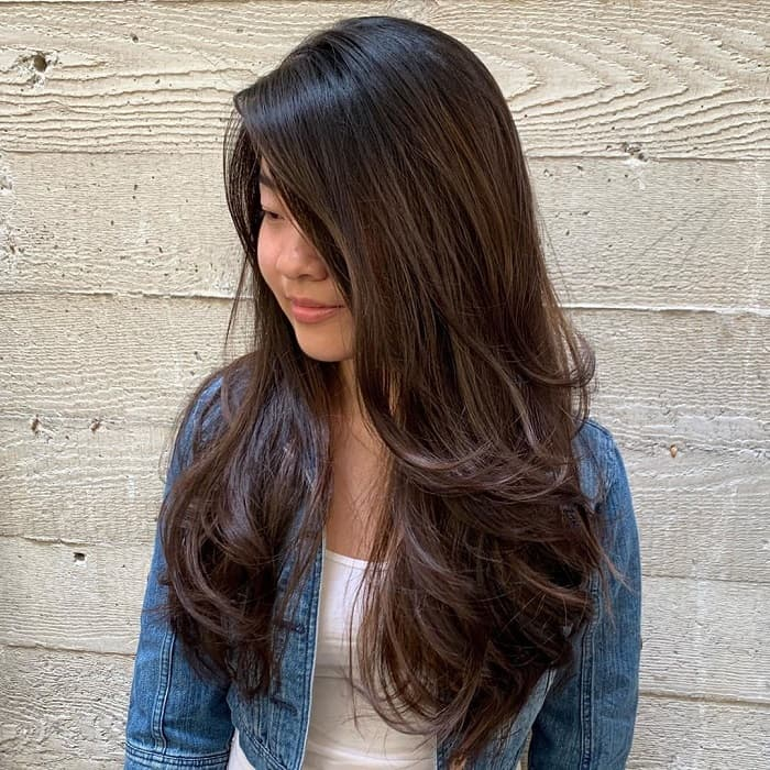 12 Attractive Long Straight Hairstyles with Layers - WeTellYouHow