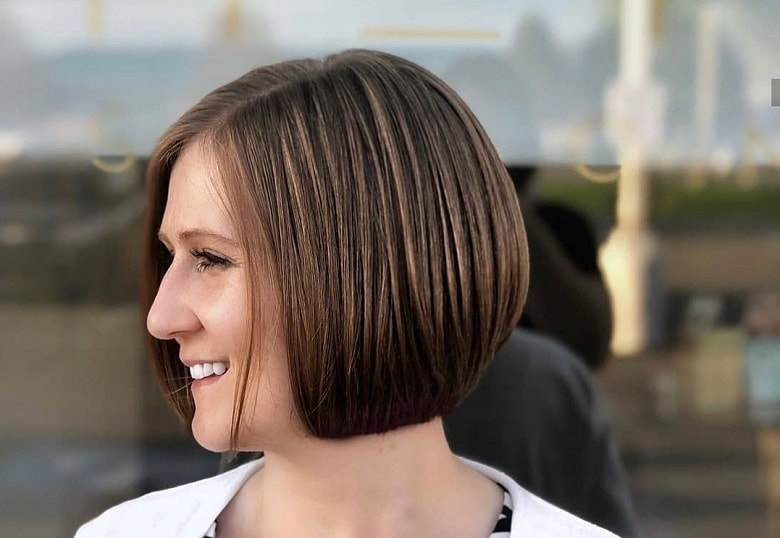 How to Cut Short Inverted Bob