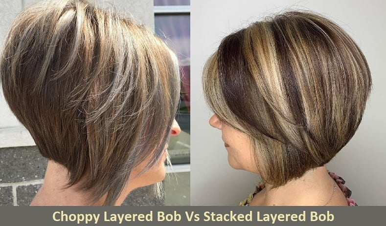 Choppy Layered Bob vs Stacked Layered Bob